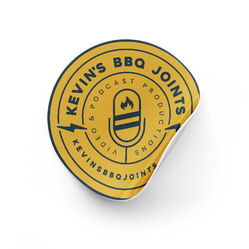 Kevin's BBQ Joints Sticker